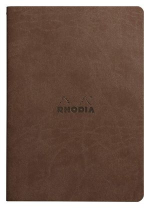 BLOC RHODIA A5 FLEXIBLE CHOCOLATE DOTPAD