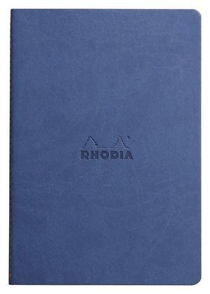 BLOC RHODIA A5 FLEXIBLE AZUL DOTPAD