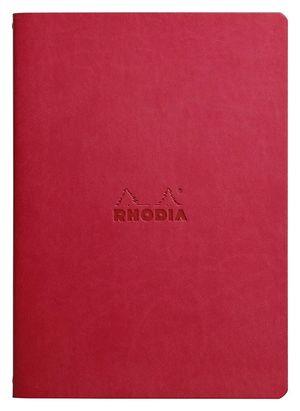 BLOC RHODIA A5 FLEXIBLE ROJO DOTPAD