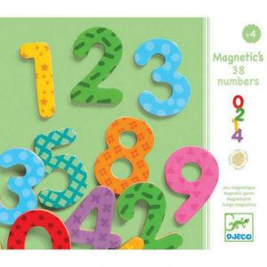 38 NUMEROS MAGNETICOS DJECO