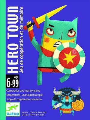 JUEGO DE CARTAS HERO TOWN DJECO