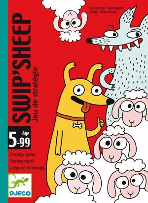 JUEGO DE CARTAS SWIP SHEEP DJECO