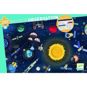 PUZZLE 200 PIEZAS OBSERVATION SPACE DJECO