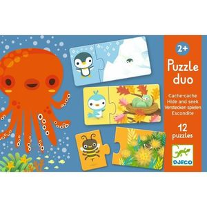 PUZZLE DUO ESCONDITE DJECO