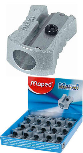 SACAPUNTAS METAL SENCILLO MAPED