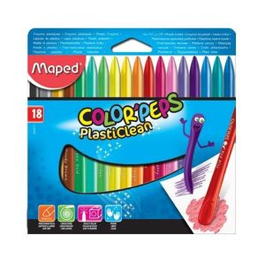CAJA 18 CERAS COLOR PEPS MAPED