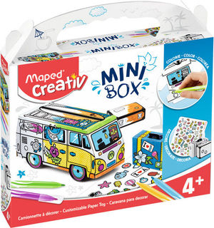 MINI BOX CARAVANA PARA DECORAR MAPED