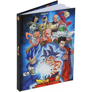 CUADERNO A5 UNIVERSE 7 DRAGON BALL