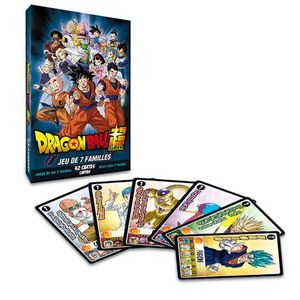 JUEGO DE CARTAS DRAGON BALL SUPER HAPPY FAMILIES