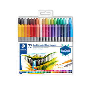ROTULADORES 72 COLORES DOBLE PUNTA STAEDTLER