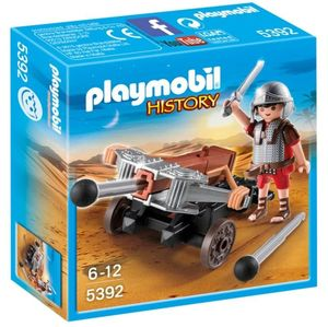 PLAYMOBIL CATAPULTA