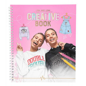 CREATIVE BOOK J1M071 LISA Y LENA