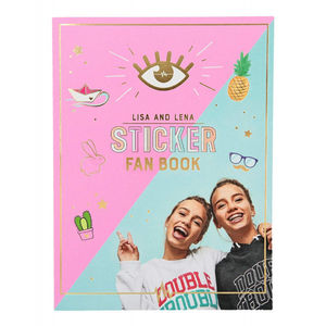 FAN STICKER BOOK J1M071 LISA Y LENA