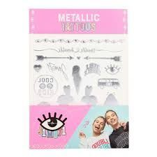 METALLIC TATTOOS J1M071 LISA Y LENA