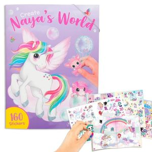CUADERNO DE COLOREAR CREATE YOUR NAYAS WORLD