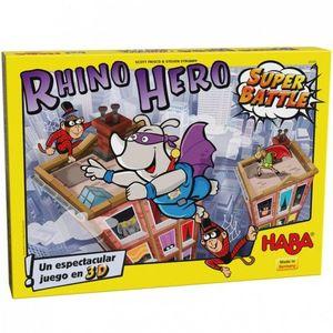 RHINO HERO SUPER BATTLE HABA