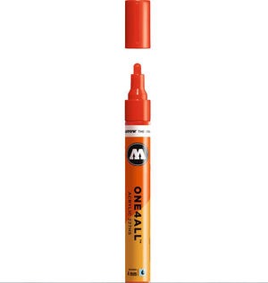 ROTULADOR ACRILICO 013 TRAFFIC RED MOLOTOW ONE4ALL 227HS 4MM