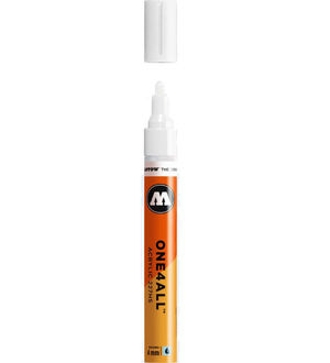 ROTULADOR ACRILICO 160 SIGNAL WHITE MOLOTOW ONE4ALL 227HS 4MM