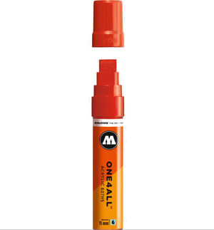 ROTULADOR ACRILICO 013 TRAFFIC RED MOLOTOW ONE4ALL 627HS 15MM