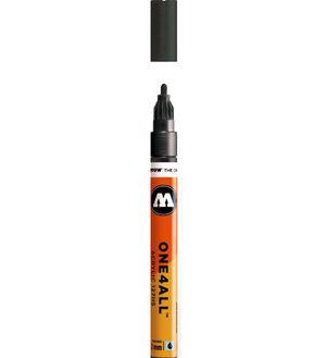 ROTULADOR ACRILICO 223 METALLIC BLACK MOLOTOW ONE4ALL 127HS 2MM