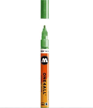 ROTULADOR ACRILICO 226 METALLIC LIGHT GREEN MOLOTOW ONE4ALL 127HS 2MM