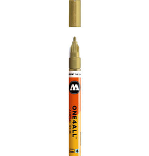 ROTULADOR ACRILICO 228 METALLIC GOLD MOLOTOW ONE4ALL 127HS 2MM