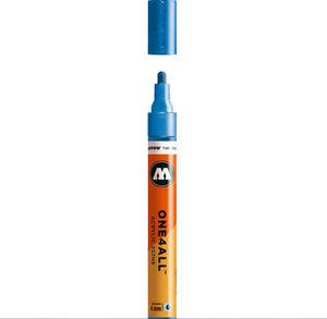 ROTULADOR ACRILICO METALLIC BLUE MOLOTOW ONE4ALL 227HS 4MM