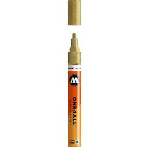 ROTULADOR ACRILICO 228 METALLIC GOLD MOLOTOW ONE4ALL 227HS 4MM