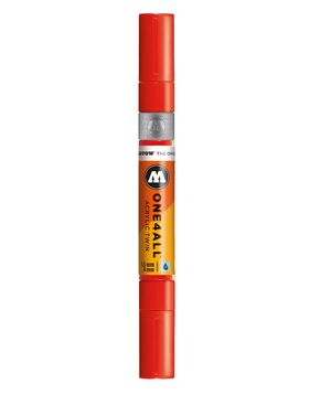 ROTULADOR ACRILICO 013 TRAFFIC RED DOBLE PUNTA MOLOTOW ONE4ALL 1,5 - 4 MM