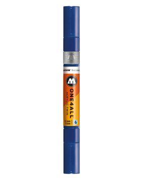 ROTULADOR ACRILICO 204 TRUE BLUE DOBLE PUNTA MOLOTOW ONE4ALL 1,5 - 4 MM