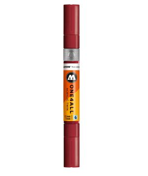 ROTULADOR ACRILICO 086 BURGUNDY DOBLE PUNTA MOLOTOW ONE4ALL 1,5 - 4 MM