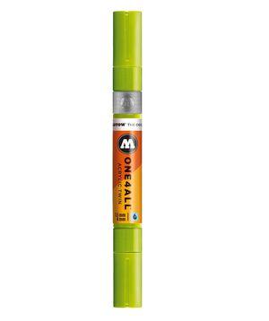ROTULADOR ACRILICO 221 GRASSHOPPER DOBLE PUNTA MOLOTOW ONE4ALL 1,5 - 4 MM