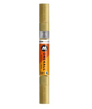 ROTULADOR ACRILICO 228 METALLIC GOLD DOBLE PUNTA MOLOTOW ONE4ALL 1,5 - 4 MM
