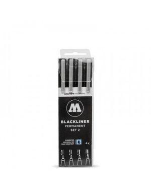 PACK ROTULADORES BLACKLINER MOLOTOW X4 - SET 2