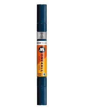 ROTULADOR ACRILICO 027 PETROL DOBLE PUNTA MOLOTOW ONE4ALL 1,5 - 4 MM
