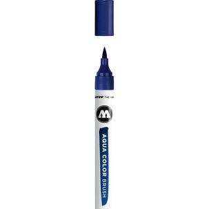 ROTULADOR ACUARELABLES 211 PRIMARY BLUE AQUA COLOR BRUSH
