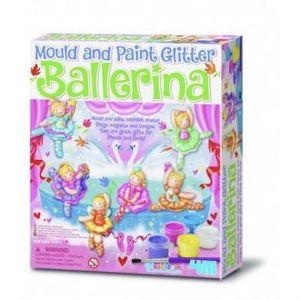 MOLDEA Y PINTA BRILLANTES BAILARINAS 4M