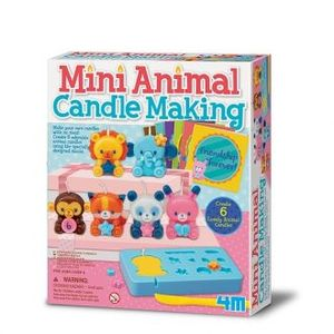 SET MINI VELAS ANIMALES 4M