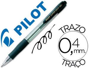 BOLIGRAFO PILOT SUPER GRIP M NEGRO