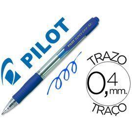 BOLIGRAFO PILOT SUPER GRIP M AZUL
