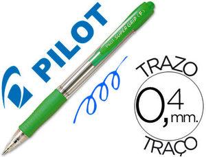 BOLIGRAFO PILOT SUPER GRIP M VERDE CLARO
