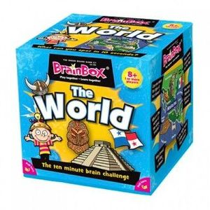 BRAIN BOX JUEGO DE MEMORIA EL MUNDO THE WORLD IDIOMA INGLES BRAINBOX