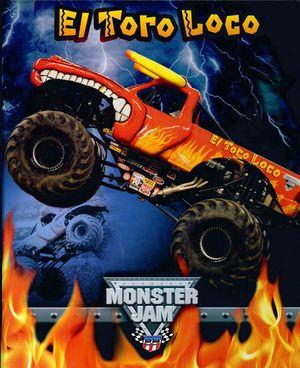 ARCHIVADOR A4 4 ANILLAS MONSTER EL TORO LOCO