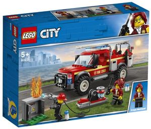 LEGO CITY TOWN CAMION DE INTERVENCION DE JEFA DE BOMBEROS