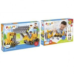 SET DE CONSTRUCCION BULLDOZER POLY M