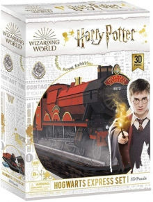 PUZZLE 180 PIEZAS 3D HOGWARTS EXPRESS HARRY POTTER
