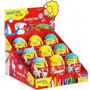 HUEVO STICK & COLOR GIOTTO BEBE