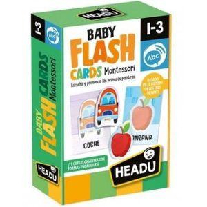 JUEGO EDUCATIVO MONTESSORI BABY FLASH CARDS