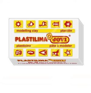 PLASTILINA JOVI 50 GR BLANCA