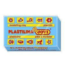 PLASTILINA JOVI 50 GR AZUL CLARO